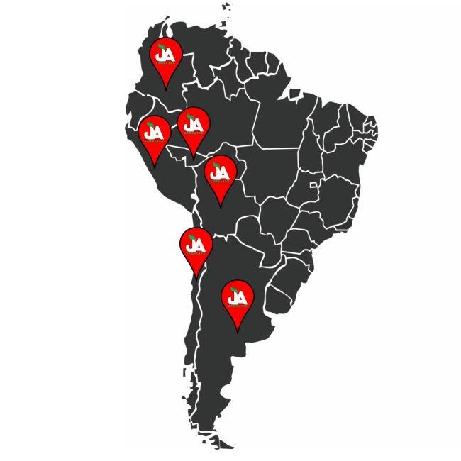 Sementes JA na América Latina