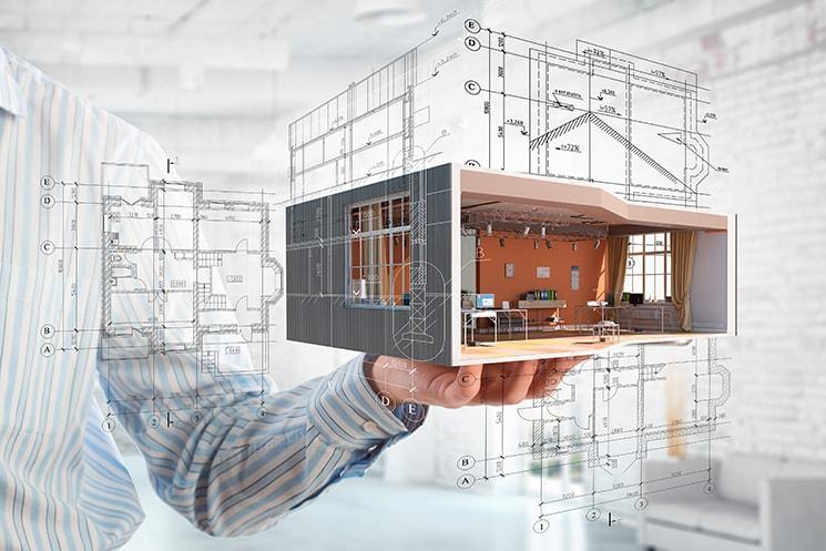 Imagem ilústritiva para o serviço de Projeto Arquitetônico