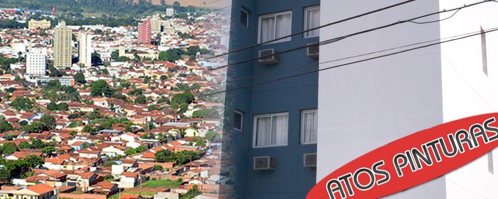Pintura de prédio em Araçatuba