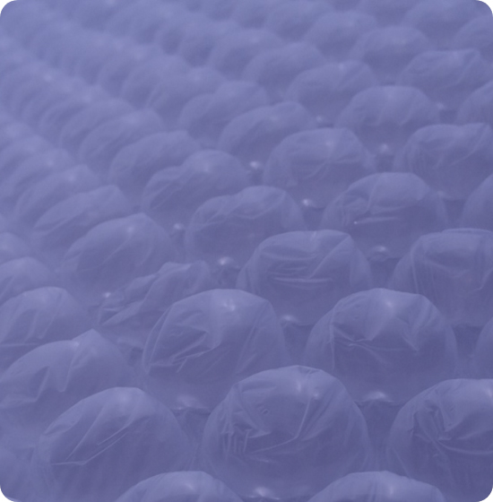 Ilustração para serviço Embalagem em Plástico Bolha