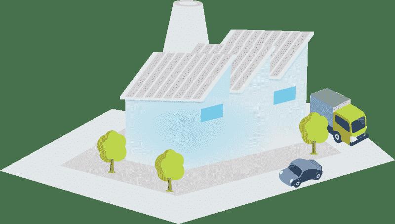 Imagem de uma casa