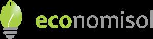 Logo Economisol invertido