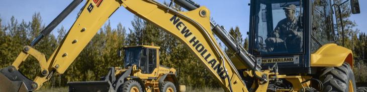 Escavadeira New Holland