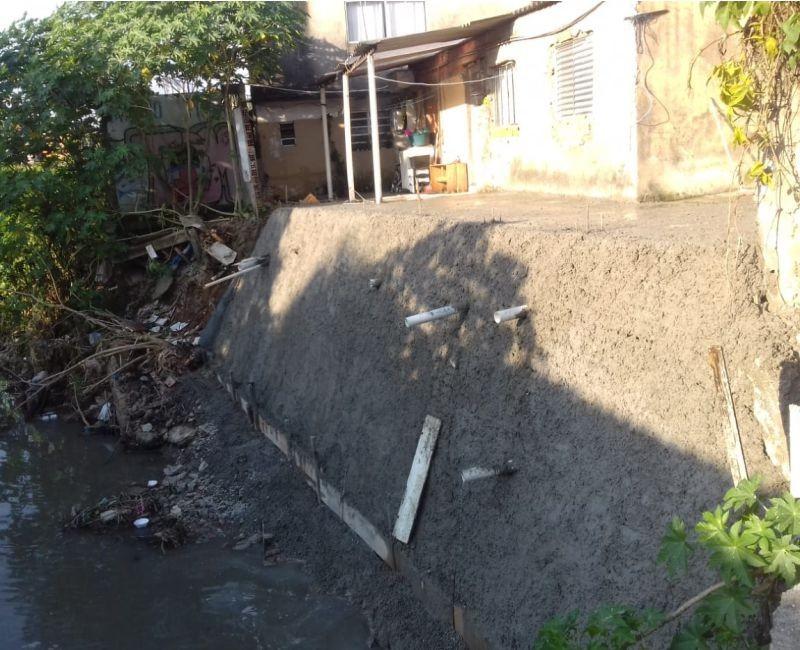 Estabilização de Encosta de Córrego – Valo Velho / SP
