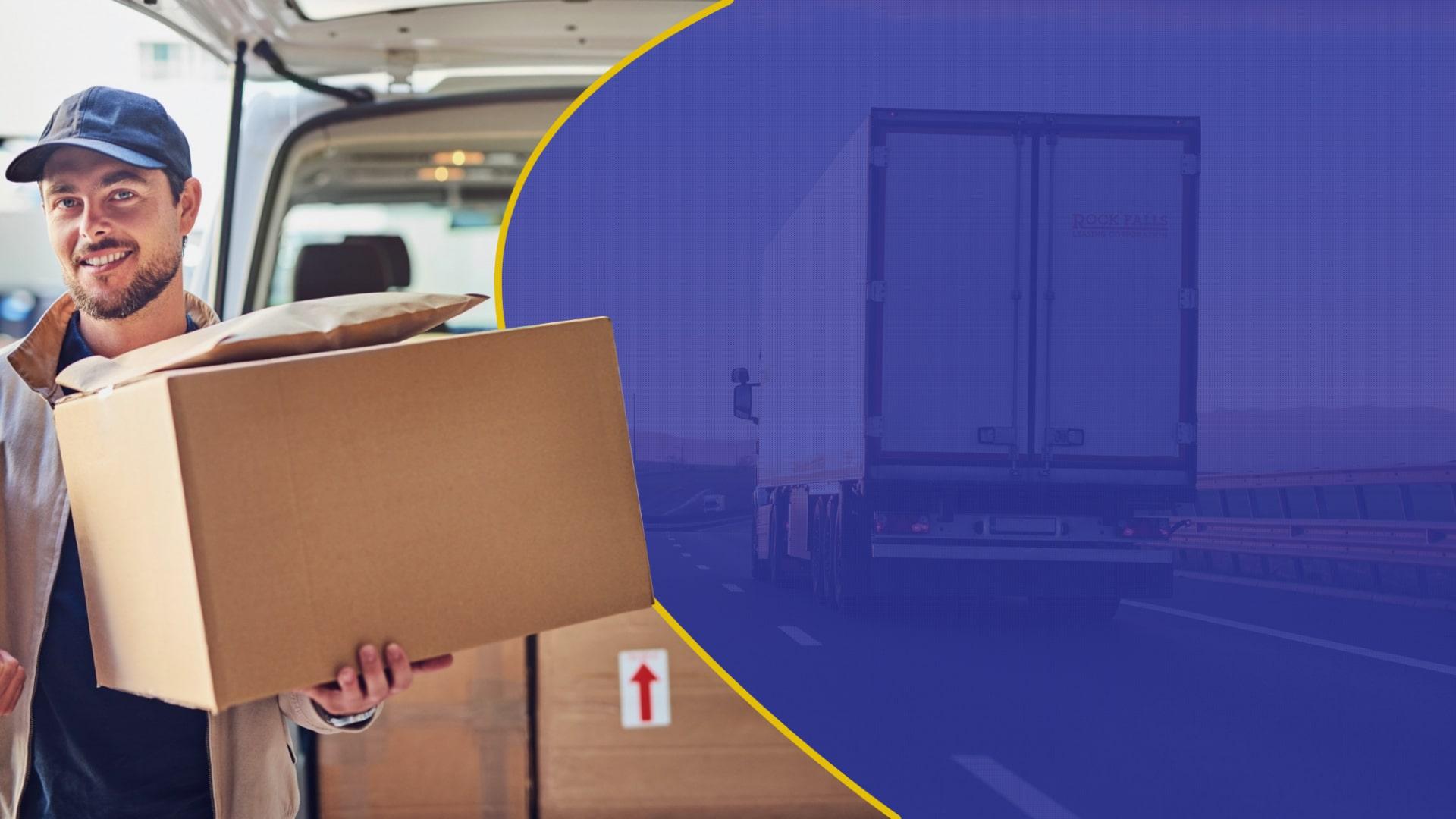 Ilustração cotação complemento de carga