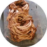 Pedaço de cobre