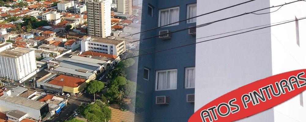 Pintura de prédio em Votuporanga