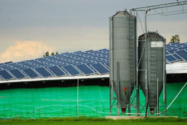 Placas fotovoltaicas para zonas rurais
