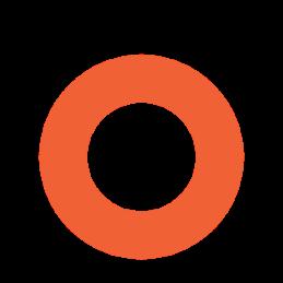 Círculo laranja
