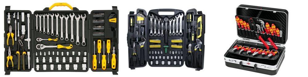 Kit de ferramentas para eletricista
