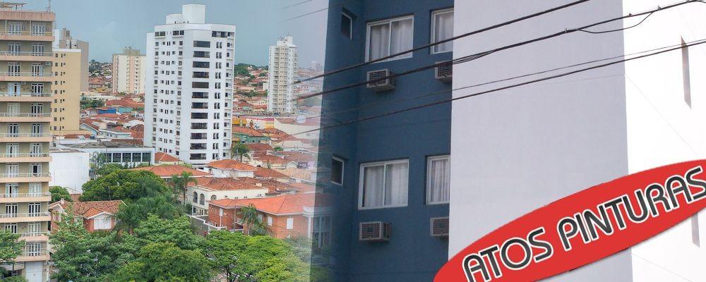 Pintura de prédio em Catantuva