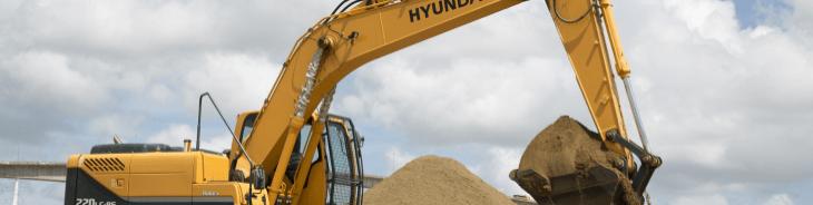 Retroescavadeira Hyundai