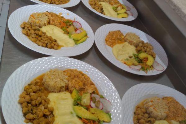 Almoço residence Sucupira - Balcão
