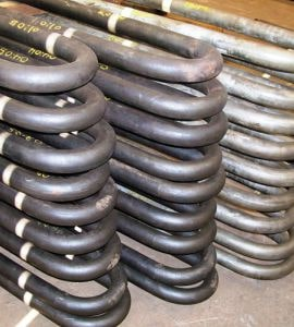 Imagem ilustrativa de tubos serpentinas