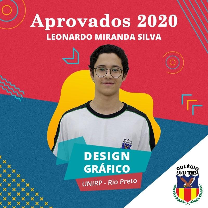 Imagem do aluno aprovado