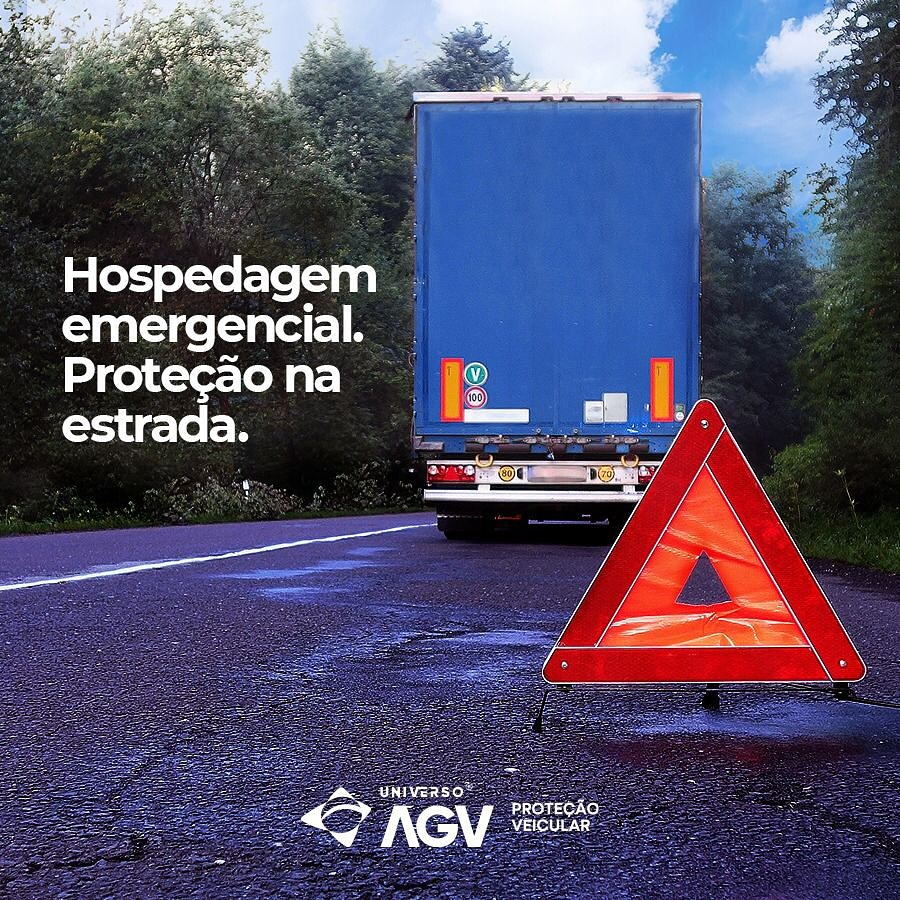 Hospedagem emergencial. Proteção na estrada.