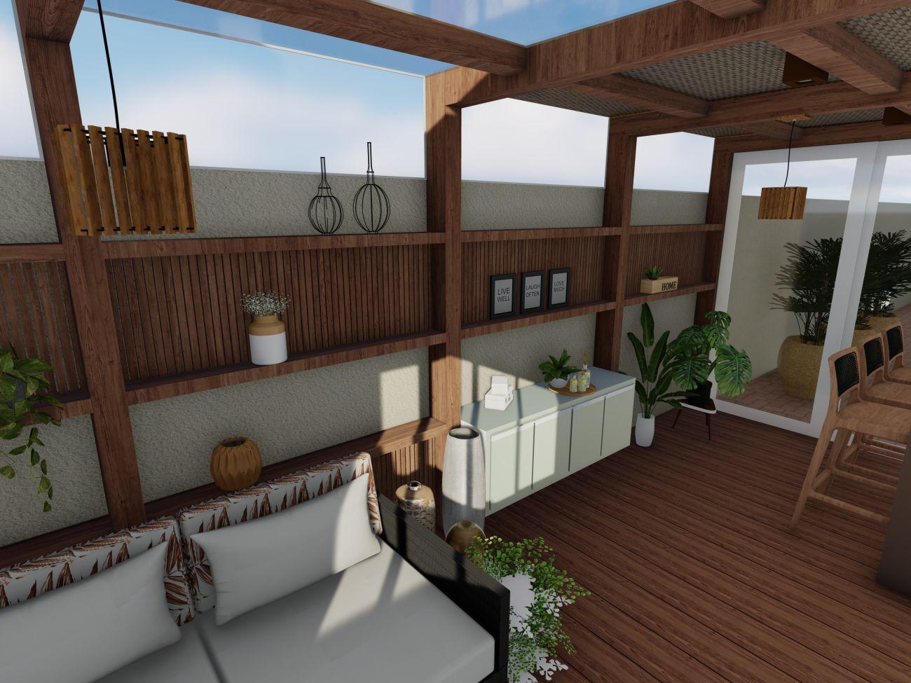 Ilustração Arquitetura de Interiores